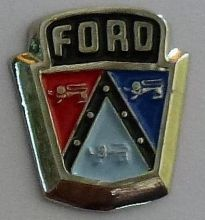 Ford Bonnet Emblem Badge