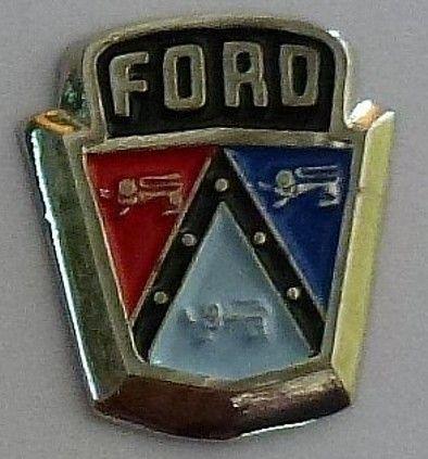 Ford Bonnet Emblem Badge