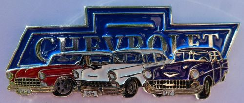 Chevrolet 55 56 57  Lapel Pin / Badge