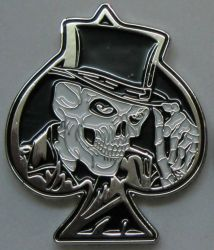 Skull of Spades Badge