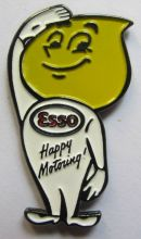 Esso Oil Drop Man Badge