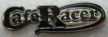 Cafe Racer Script metal Lapel-pin/Badge