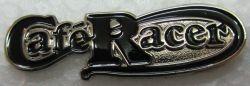 Cafe Racer Script metal Lapel-pin/Badge