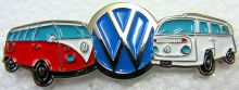 VW Kombi duo  Lapel Pin / Badge