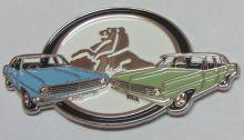 HD & HR Holden Duo Badge