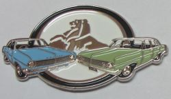 HD & HR Holden Duo Badge