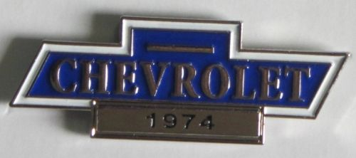 Chevrolet Year Badges/Lapel Pin