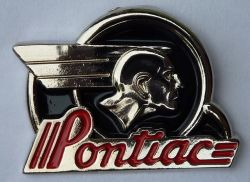 Pontiac Chief Head  Lapel Pin / Badge
