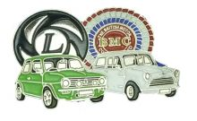 Leyland BMC Badge