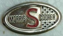 Morris Cooper S Oval Badge