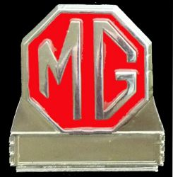 MG Red Year Badge