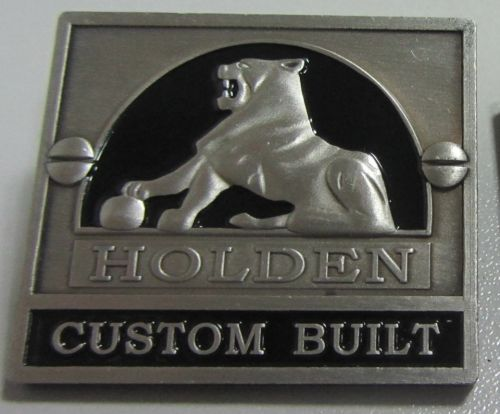 Holden Custom Built Badge