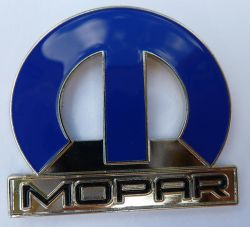 Mopar Big Blue Metal  Lapel Pin / Badge