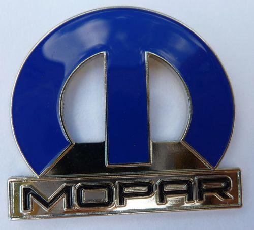 Mopar Big Blue Metal  Lapel Pin / Badge
