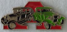 Ford Model A Duo Black/Green Badge