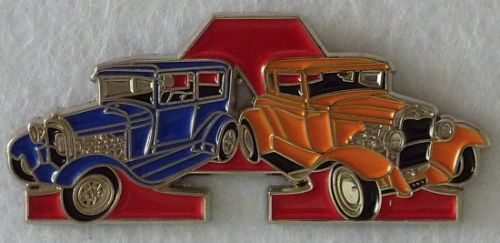 Ford Model A Duo Blue/Orange Badge