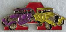 Ford Model A Duo Purple/Yellow Badge