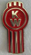 Kenworth Red Truck  Lapel Pin / Badge