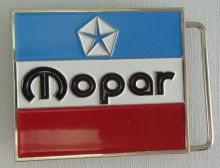 Mopar 3 Colour Belt Buckle
