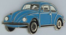 VW Beetle Late Model  Lapel Pin / Badge