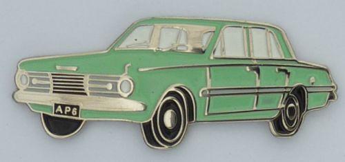 AP6 Valiant Lapel Pin / Badge