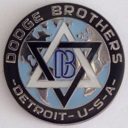 Dodge Brothers Detroit  Lapel Pin / Badge