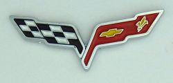 Chevrolet Corvette Impala Camaro New Flag  Lapel Pin / Badge