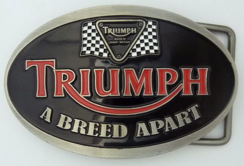 Triumph Breed Apart Belt Buckle