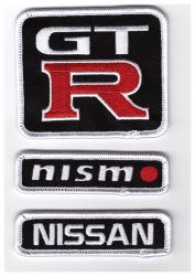 Nissan Racing Team Trio Patches