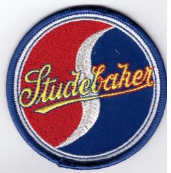 Studebaker Red&Blue patch