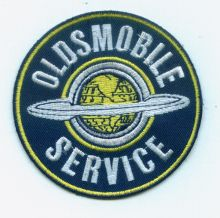 Oldsmobile Service Patch