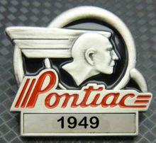 Pontiac Year Badge