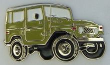 Landcruiser FJ40-BJ40 SWB Lapel Pin / Badge