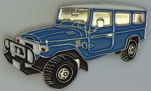 Landcruiser  FJ78-HJ78 LBW Troop Carrier Lapel Pin / Badge