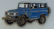 Landcruiser FJ40-BJ40 SWB Winch Wagon Lapel Pin / Badge