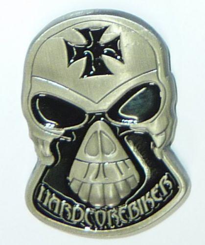 Hardcorebiker Skull Badge