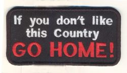 If you don't Go Home Sml Patch