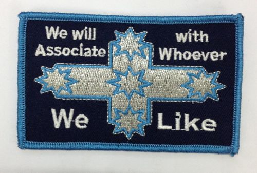We will Associate with whoever we like Patch