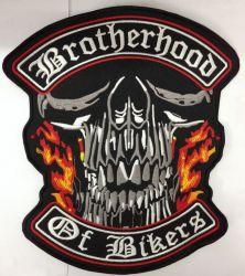 Brotherhood of Bikers Back Patch