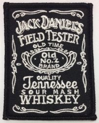 Jack Daniels Field Tester patch
