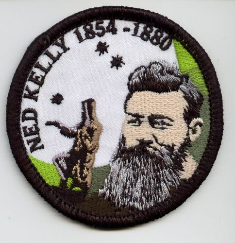 Ned Green Round Patch