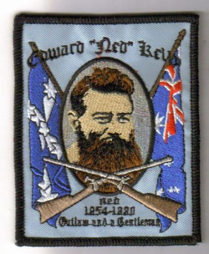 Ned Kelly Gentleman Patch
