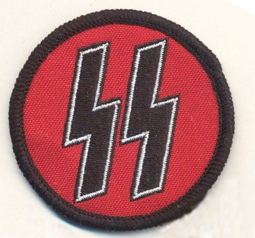SS Round embroidered cloth Patch