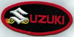 Suzuki Oval Wheels Patch