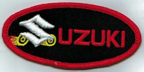 Suzuki Oval Wheels Patch