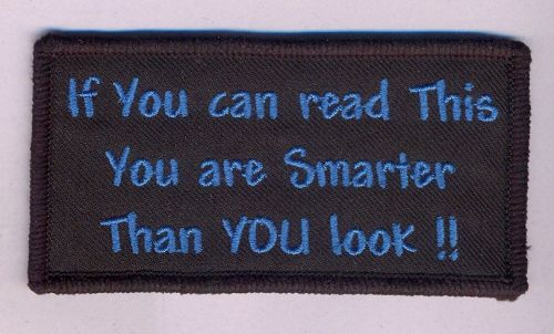 If you can read this..patch