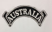 Australia Rocker Scroll Patch