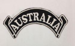 Australia Rocker Scroll Patch