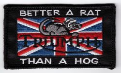 Triumph better a Rat Patch