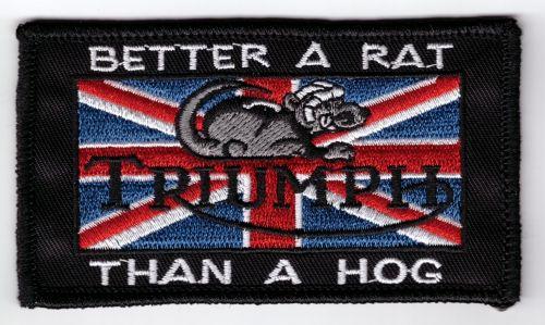 Triumph better a Rat Patch